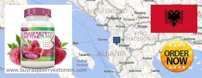 Hvor kan jeg købe Raspberry Ketone online Albania