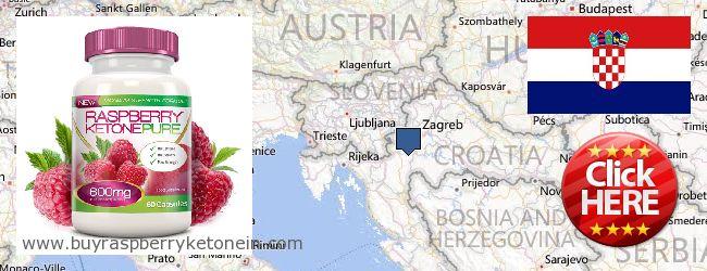 Hvor kan jeg købe Raspberry Ketone online Croatia