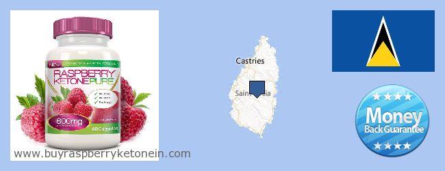 Unde să cumpărați Raspberry Ketone on-line Saint Lucia