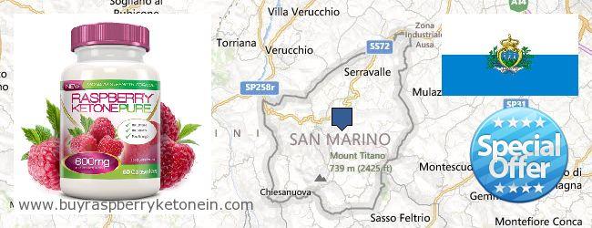 Hol lehet megvásárolni Raspberry Ketone online San Marino